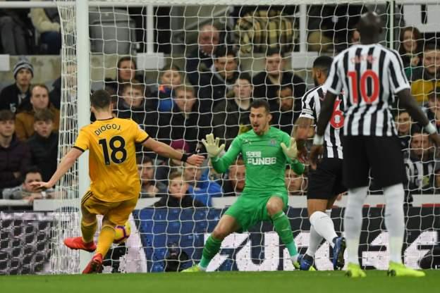 Diogo Jota Goal For Wolves