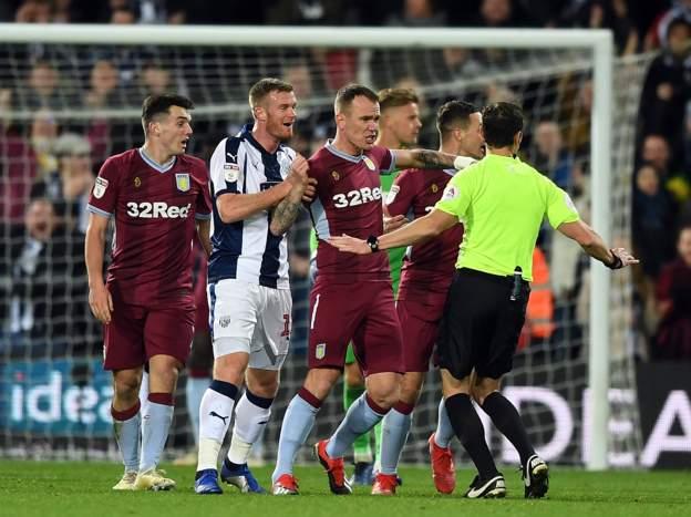 Villa players protesting.jpg